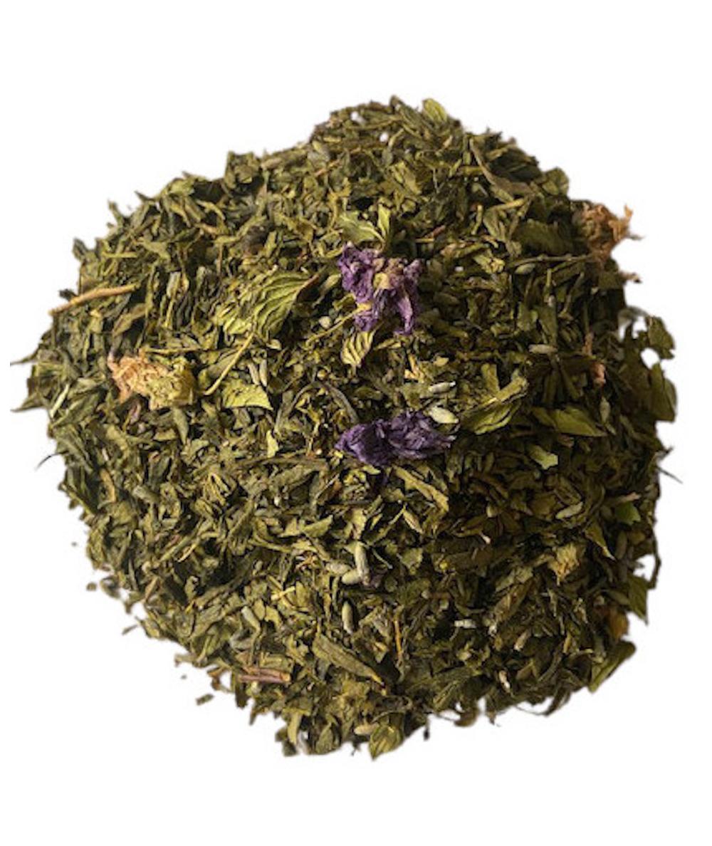 thé vert menthe lavande