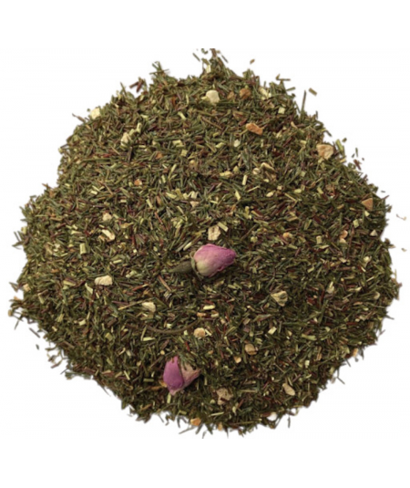 rooibos vert princesse bergamote orange