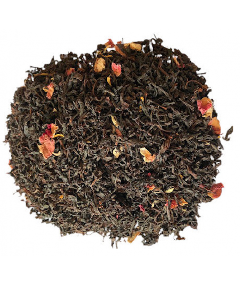Taj Mahal thé noir à l'orange et à la rose