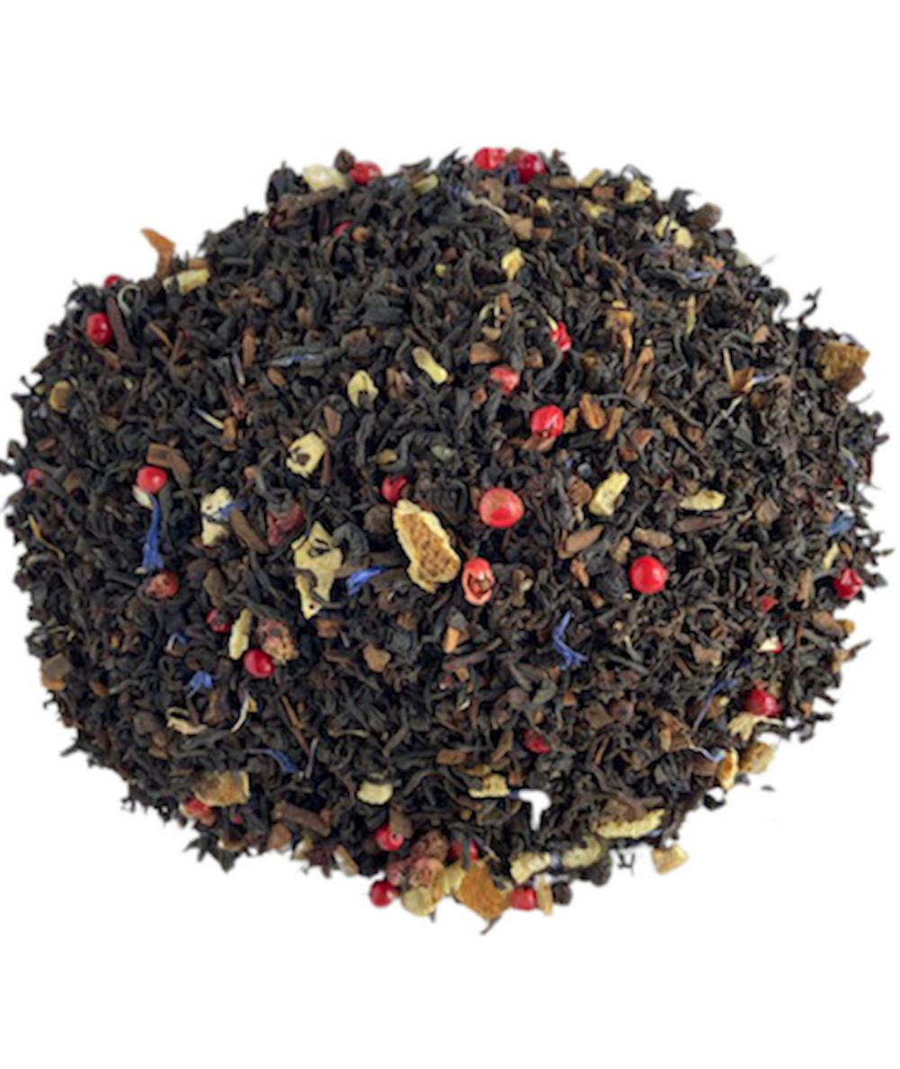 thé noir grenade - orange - cannelle
